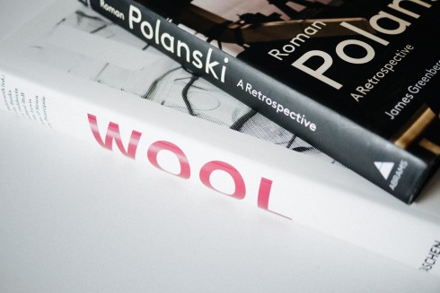 Christopher Wool Book and Roman Polanski Book