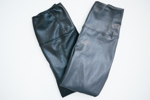 aritzia wilfred free daria faux-leather legging