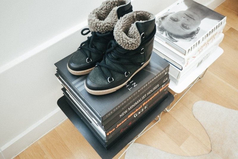F I G T N Y New Isabel Marant Nowles boots