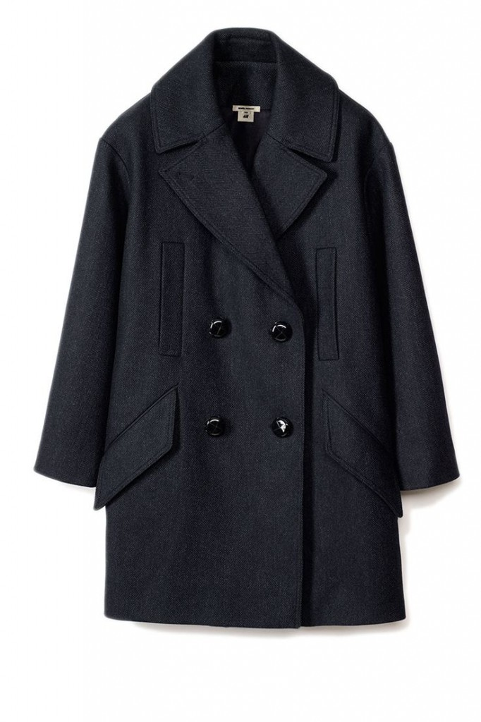 isabel marant for h&m oversized wool coat