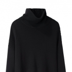 current obsession / helmut lang ribbed turtleneck
