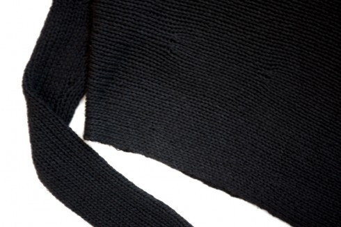 figtny.com | Helmut Lang asymmetrical sweater
