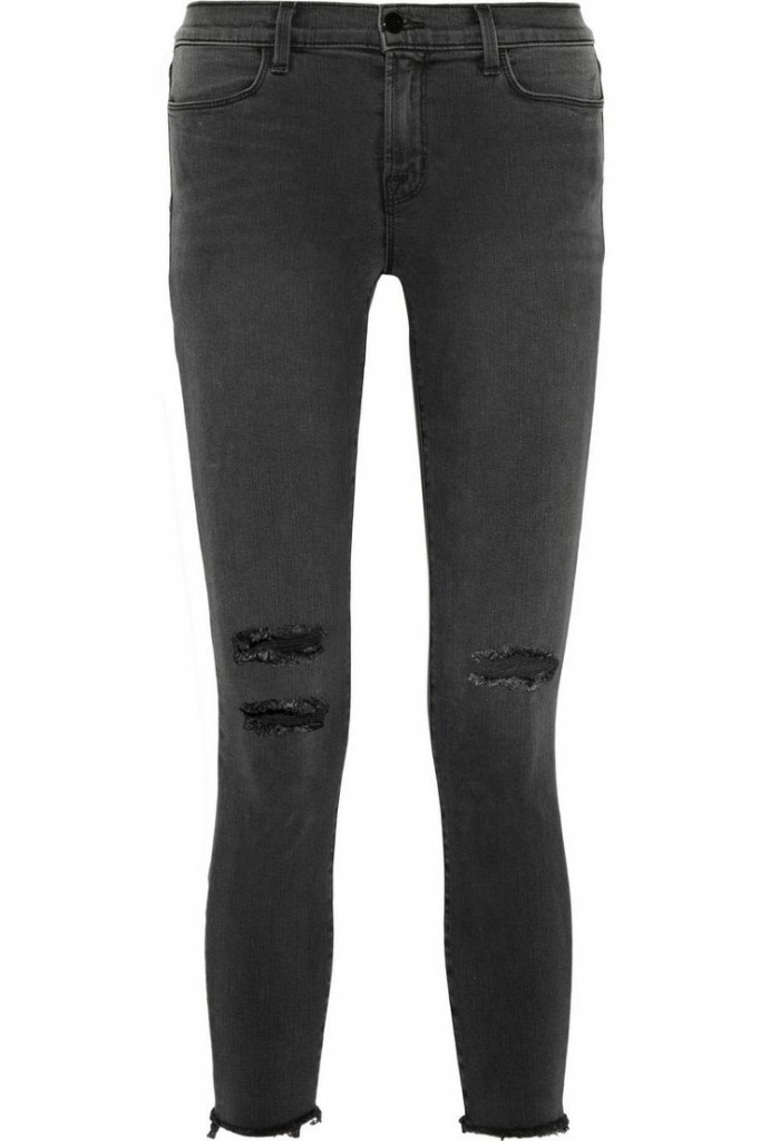 J Brand photo-ready distressed skinny jeans