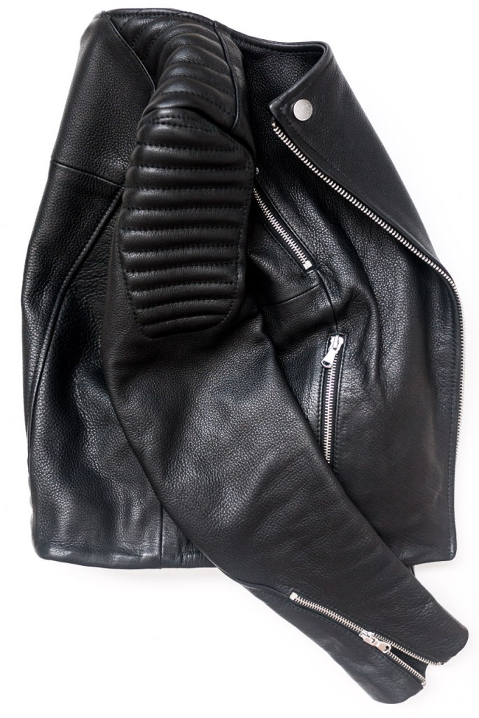 figtny.com | H&M the new icons leather jacket