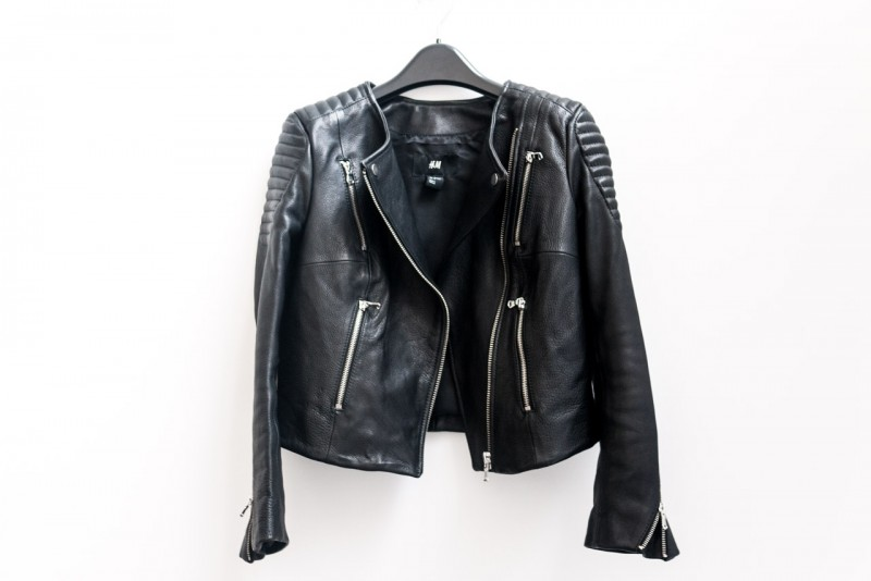 Hm leather jacket