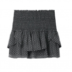 current obsession / isabel marant Aura silk mini skirt