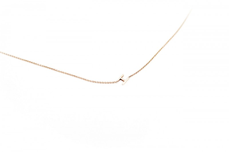 "figtny.com | Maya Brenner mini ""H"" necklace"