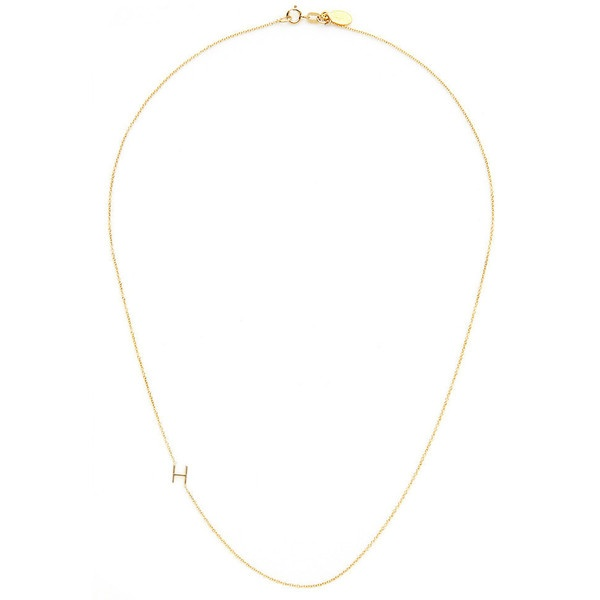 "Maya Brenner mini ""H"" necklace"