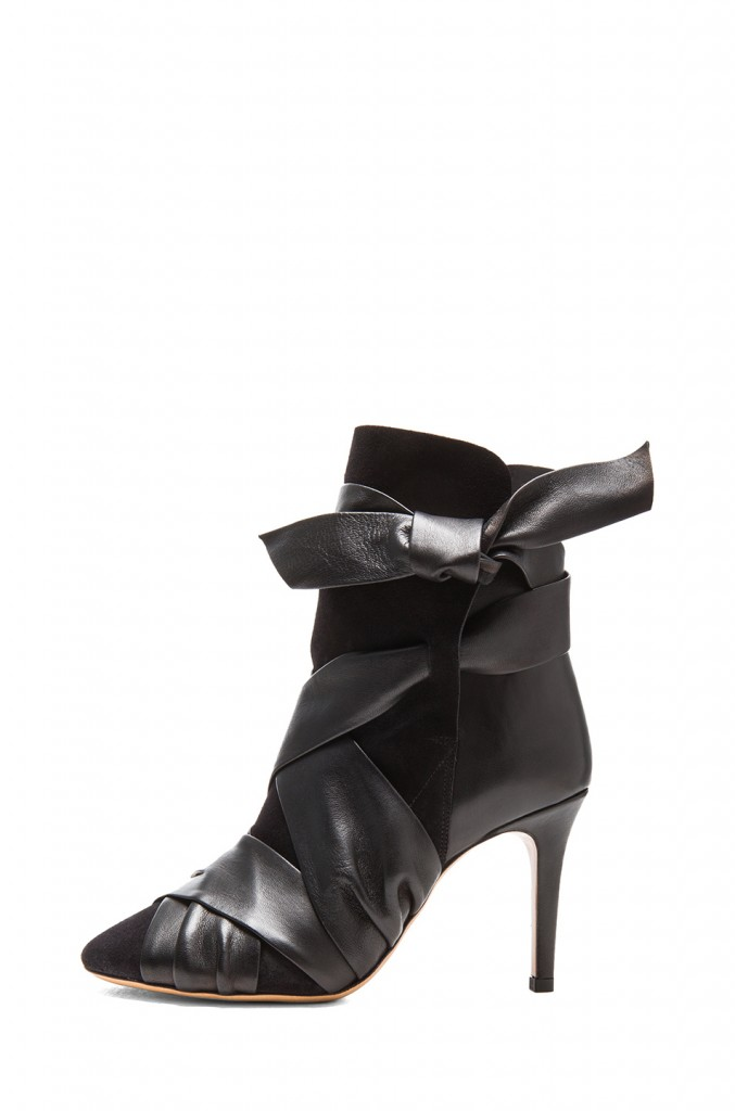 Isabel Marant Angie Booties Black