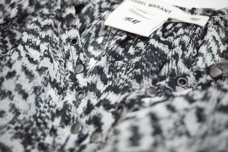 figtny.com | Isabel Marant for HM feather dress