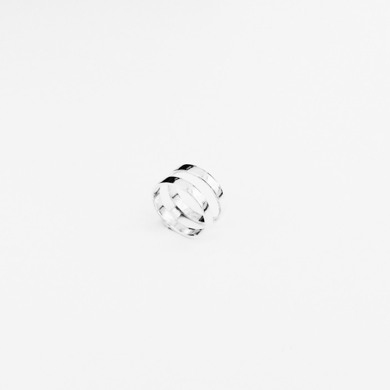 figtny.com | Vrai and Oro Silver Double Stacked Ring