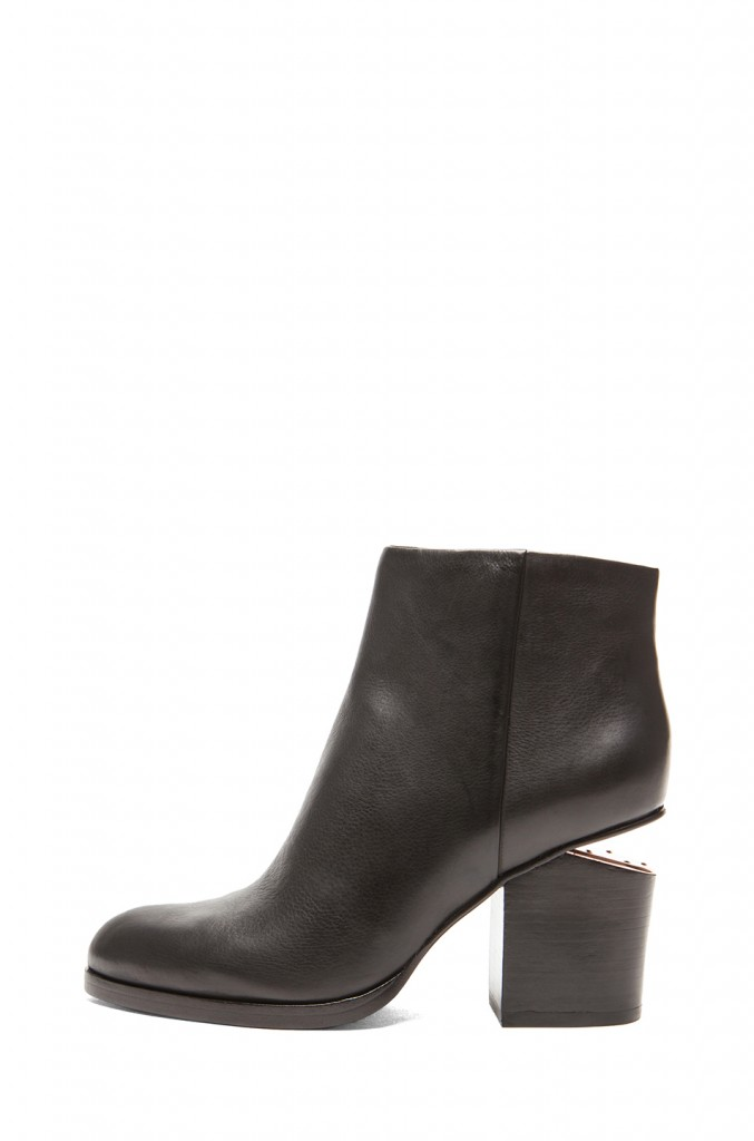 Alexander Wang Gabi Leather Ankle Booties