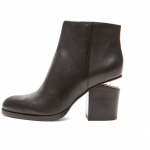 Current Obsession / Alexander Wang Gabi Leather Ankle Booties
