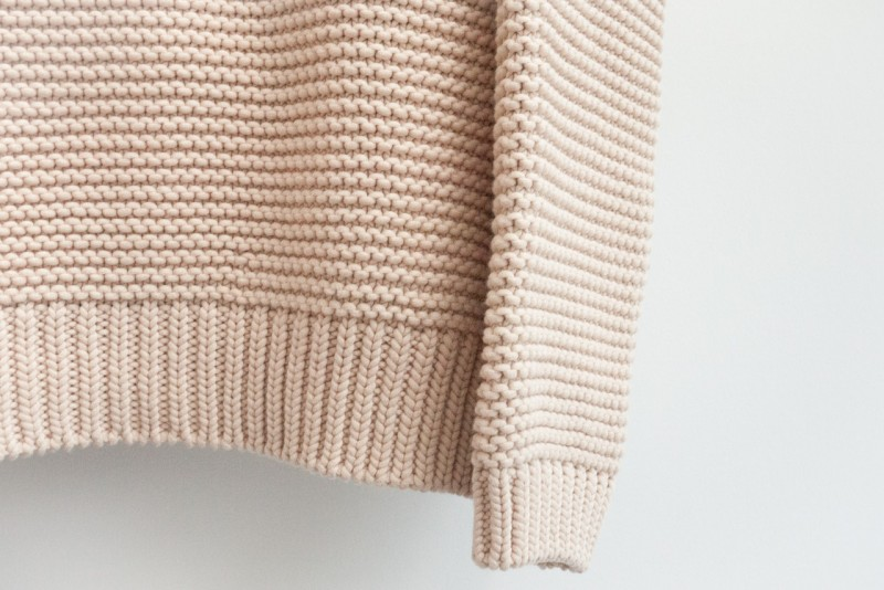 figtny.com | ZARA high neck sweater - bisque
