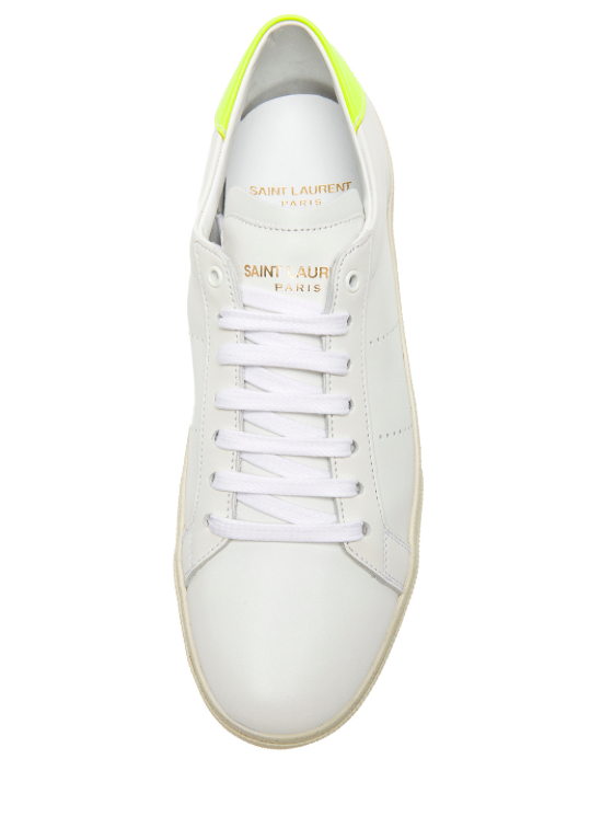 Saint Laurent Paris Court Classic Leather Sneakers
