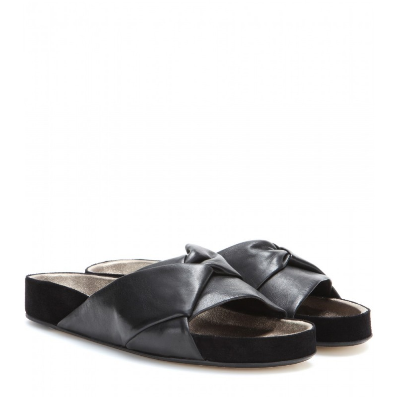 figtny.com | Current Obsession / Isabel Marant Boop Slide Sandal