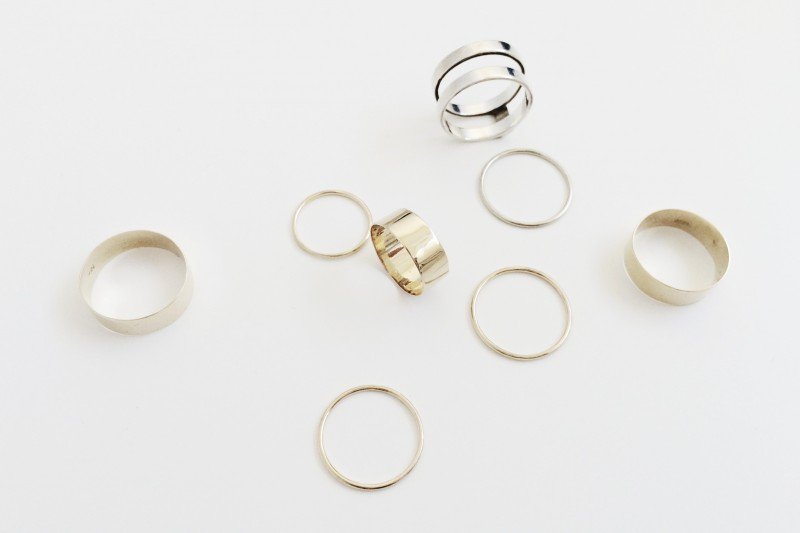 figtny.com | Vrai and Oro Stacking Rings
