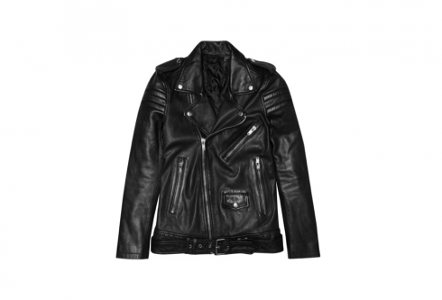figtny.com | BLK DNM 8 Leather Biker Jacket