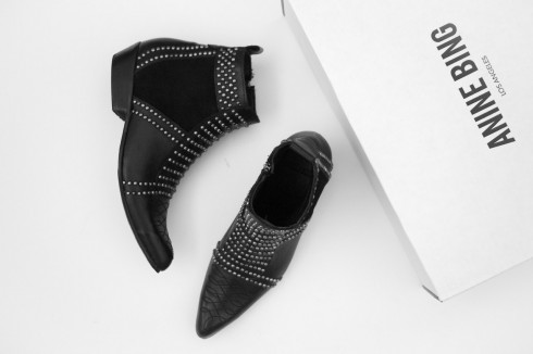 figtny.com | Anine Bing Stud Ankle Boots
