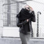 Fatigues + Leather…