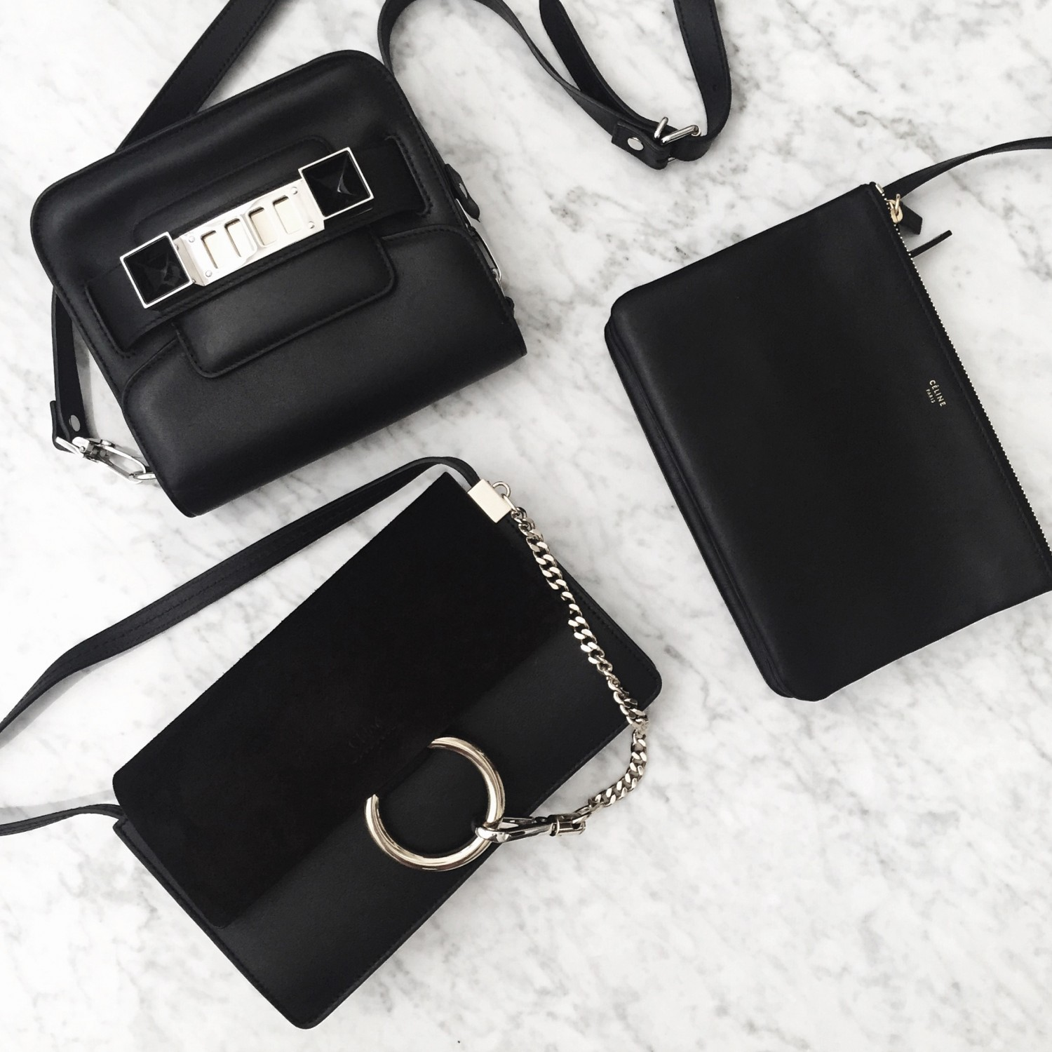 figtny.com | Instagram - Mini Black Bag Trio