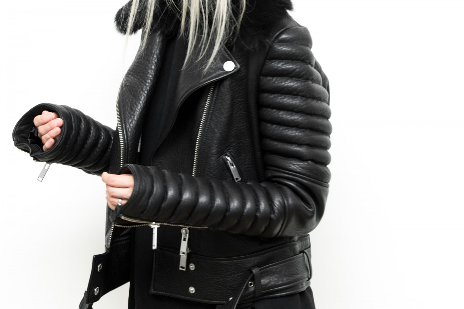 figtny.com | The Arrivals Rainier Leather Moto Jacket