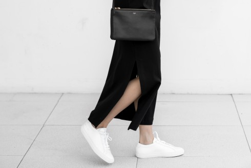 figtny.com | Sleeveless + Sneakers