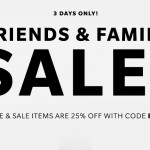 "Shopbop Shop 25% off ""INTHEFAM"""