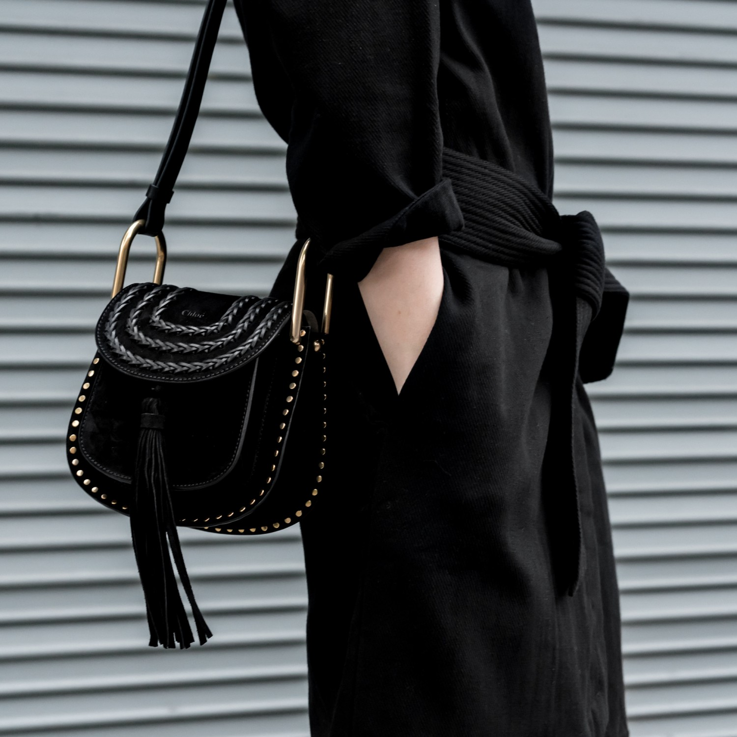 figtny.com | Chloe Hudson Mini Bag & Magali Pascal Dress