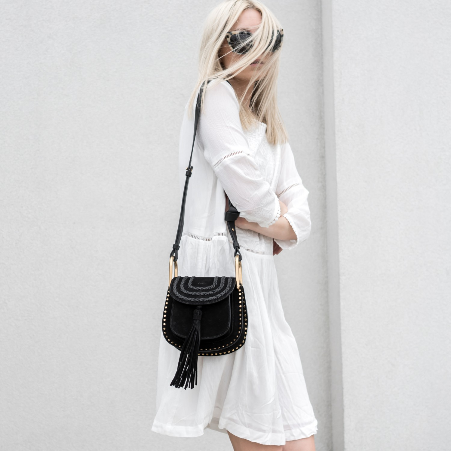 figtny.com | Chloe Hudson Mini Bag & Suncoo Dress