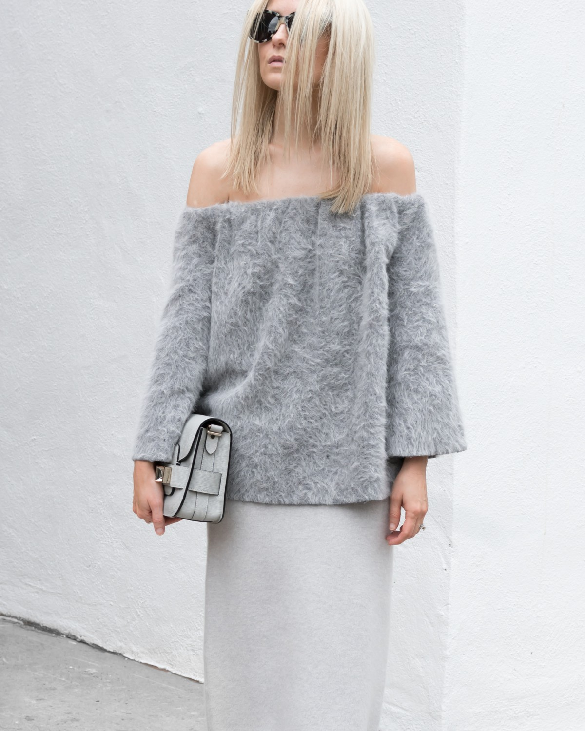 figtny.com | Bare Shoulders + Bell Sleeves