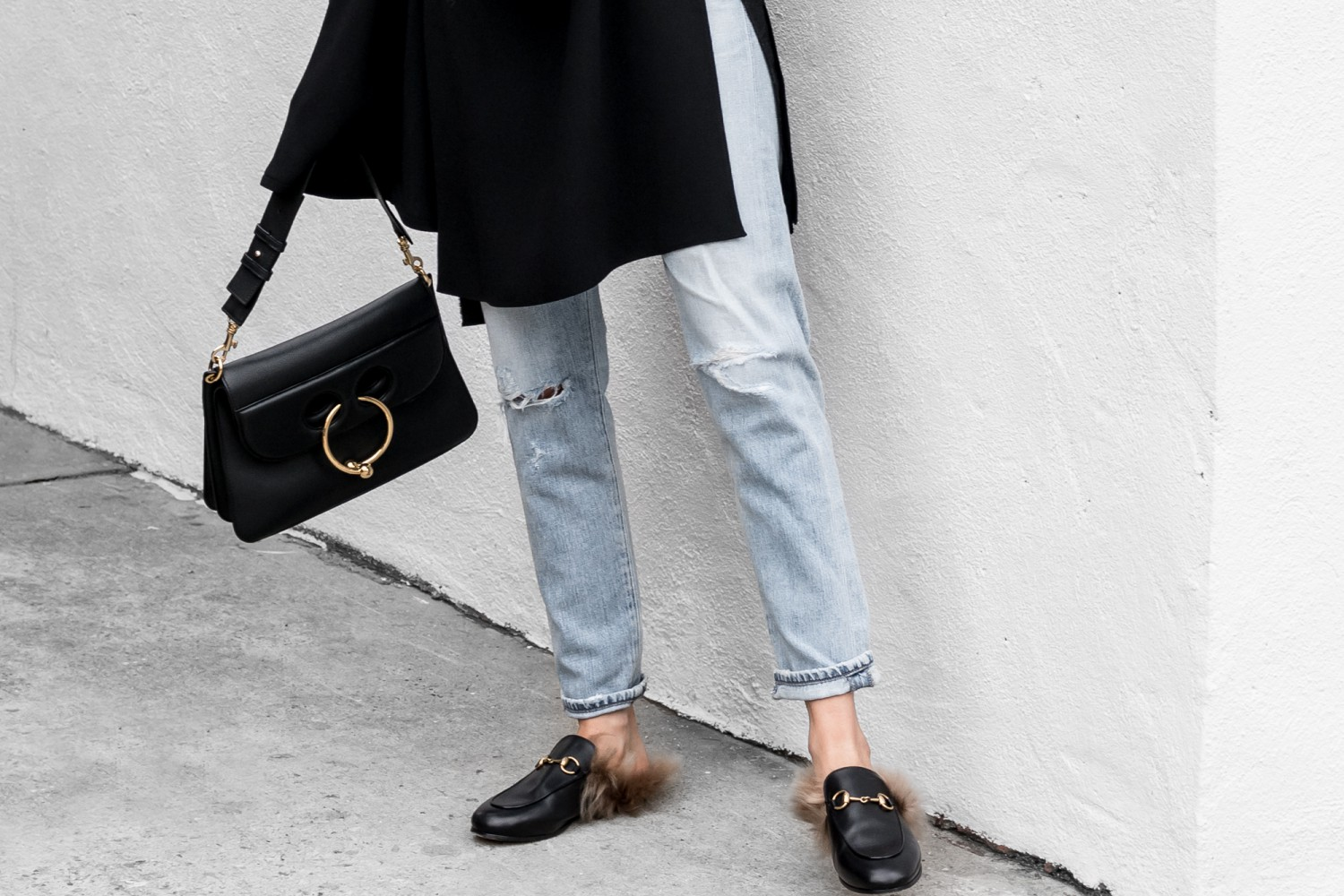 figtny.com | Bold Sleeves & Blue Jeans