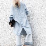 Chambray Shirts + Cropped Denim