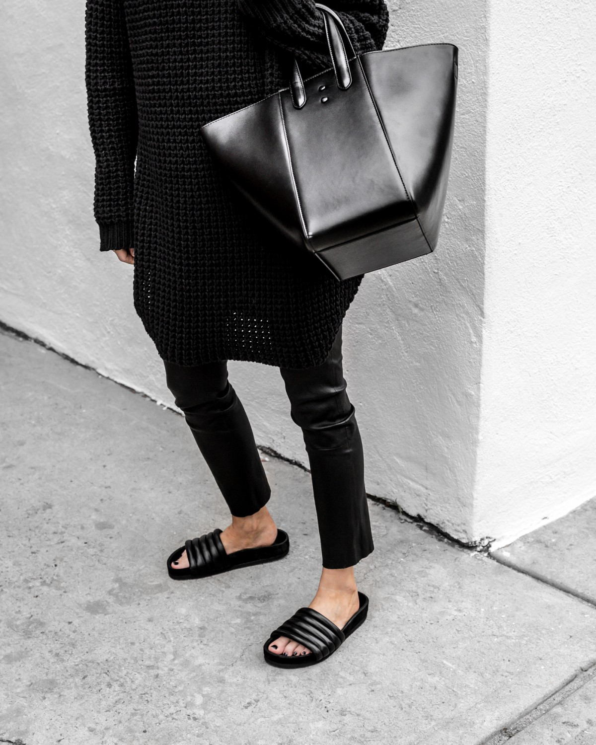 figtny.com | Leathers, Sweaters & Slides
