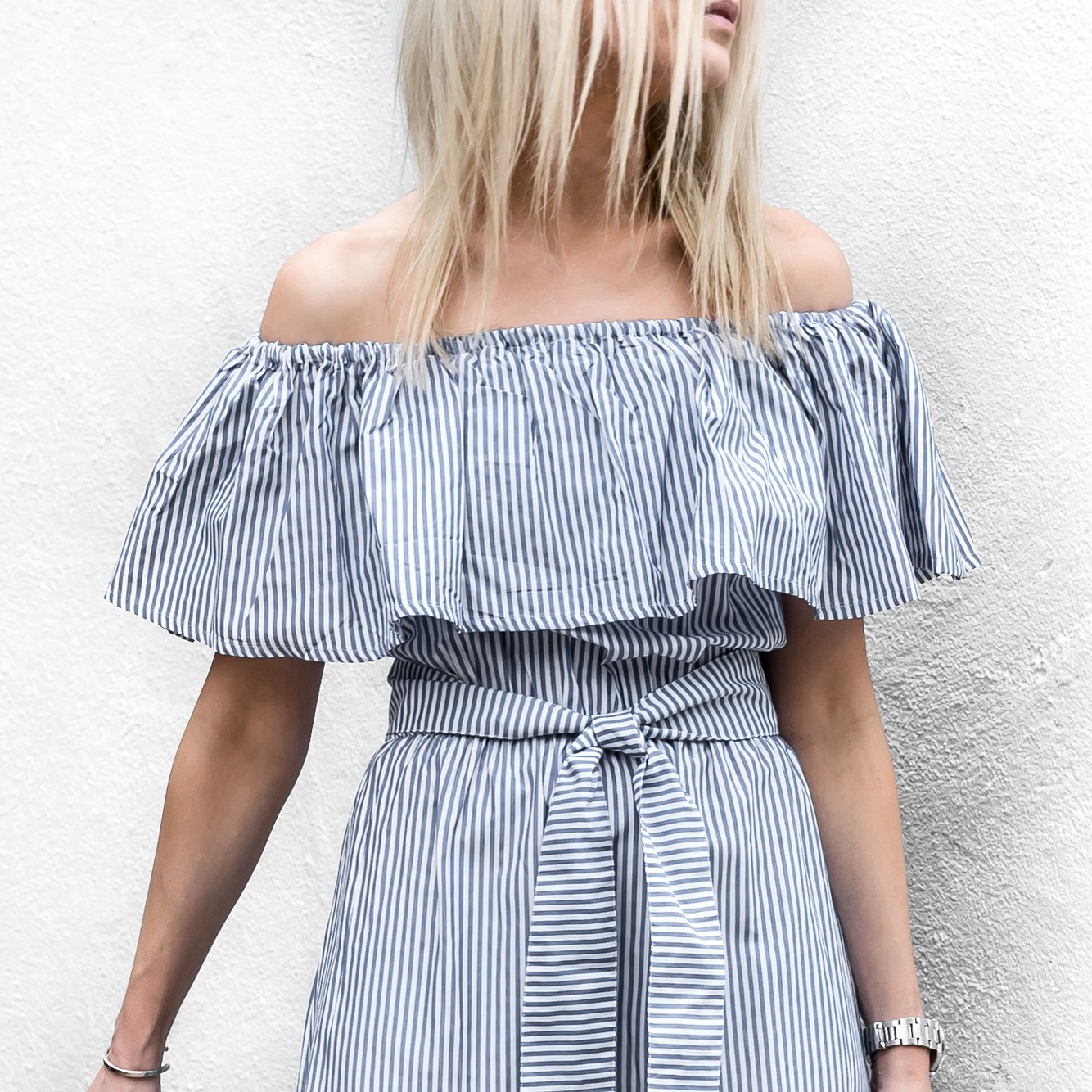 figtny.com | Off Shoulder Stripes