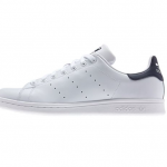 current obsession / white low-top leather sneakers